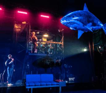Dei leitar etter Alle Andre under havet. Foto: Dag Jenssen.