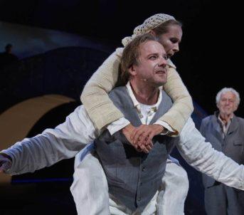 Pål Christian Eggen er ein av dei yngre Peer-figurane. Foto: Stig-Håvard Dirdal.